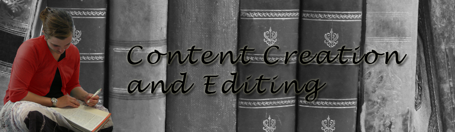 Content Creation and Editing